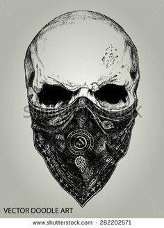 Drawn skull pinter Evil Drawings Skull ideas Pinterest