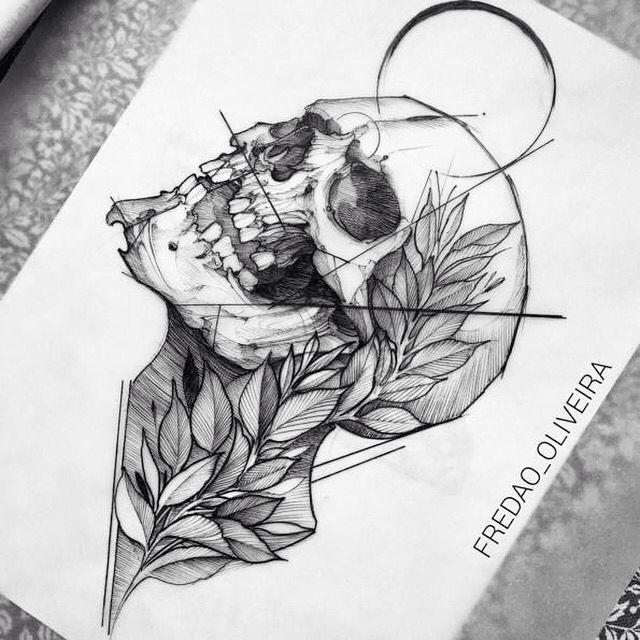 Drawn skeleton detailed Skull images best drawing tattoo