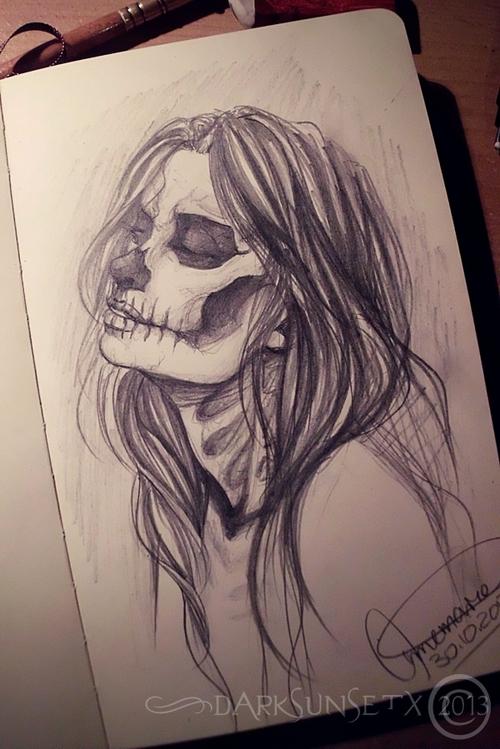 Drawn sad halloween  drawing horror paper halloween