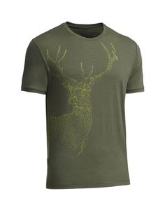 Drawn stag abstract T the Artist hand Lite