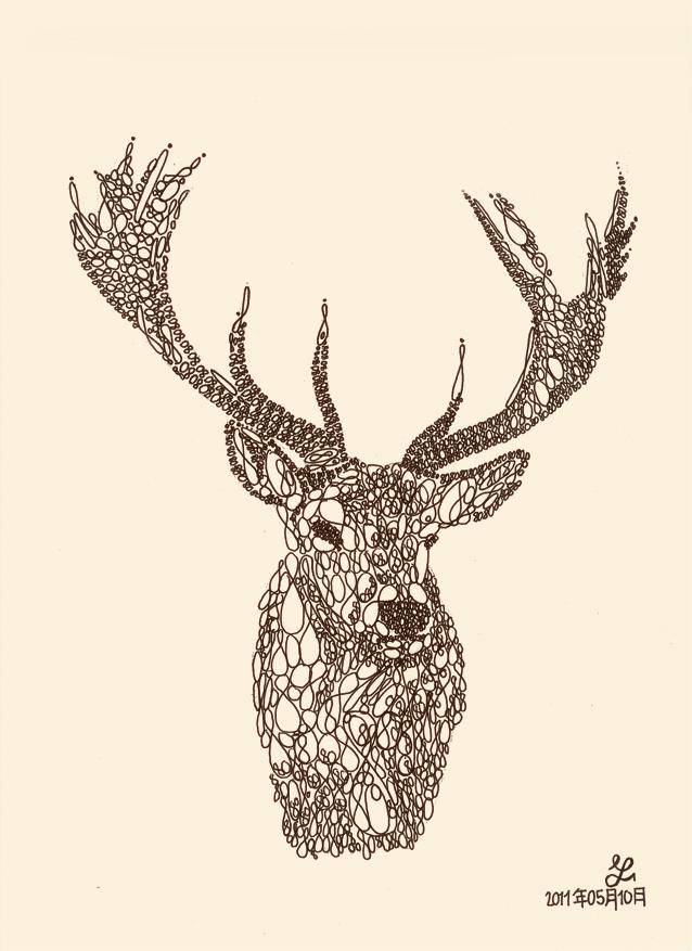 Drawn stag deviantart Techitch34 Smart) (Matt typography DeviantArt