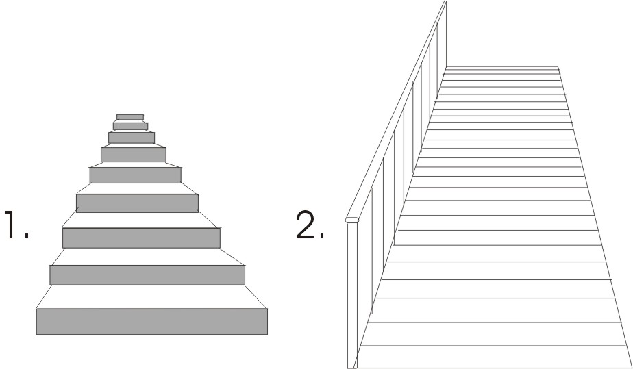 Drawn stairs Annaclementson log Production planning and
