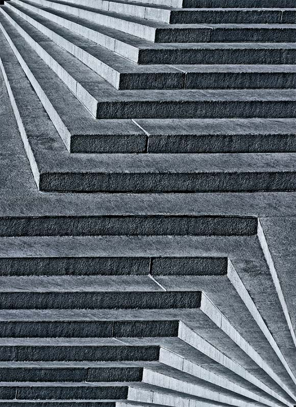 Drawn stairs allusion Steps Mind Repetition 50 Illusions