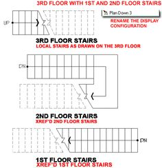 Drawn stairs architectural drawing Stairs by Pinned www #stairs