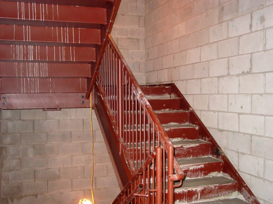 Drawn stairs brick wall Stairs Buildipedia Metal Stairs Metal