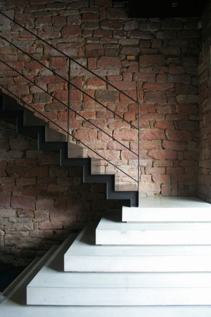 Drawn stairs brick wall Stairs this stairs more and