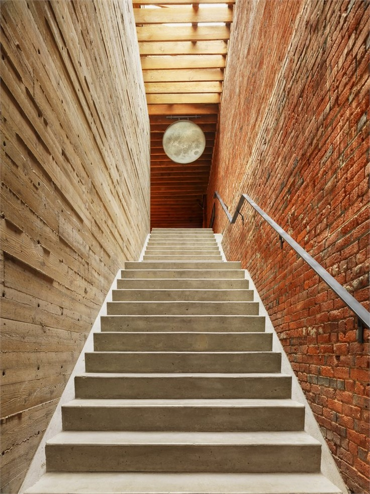 Drawn stairs brick wall WallsStairwayStaircasesConcrete Stairs 018 and Pinterest