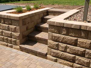 Drawn stairs brick wall Build with in How Fieldstone