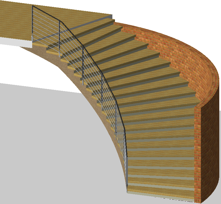 Drawn stairs bridge ? Custom Drawn Helpful Was