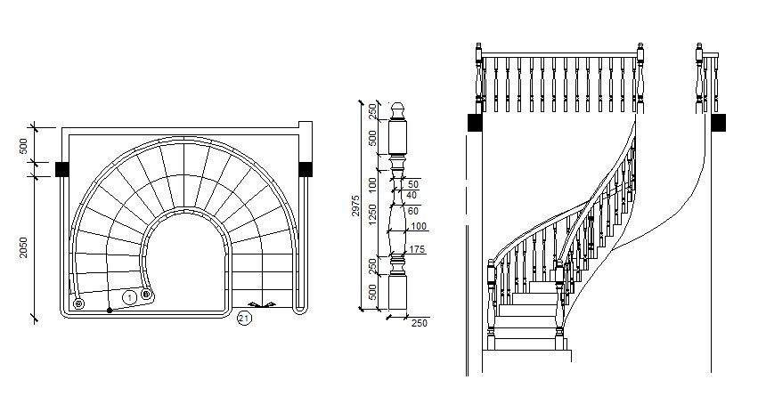 Drawn stairs curved staircase Staircase free Staircase Spiral blocks