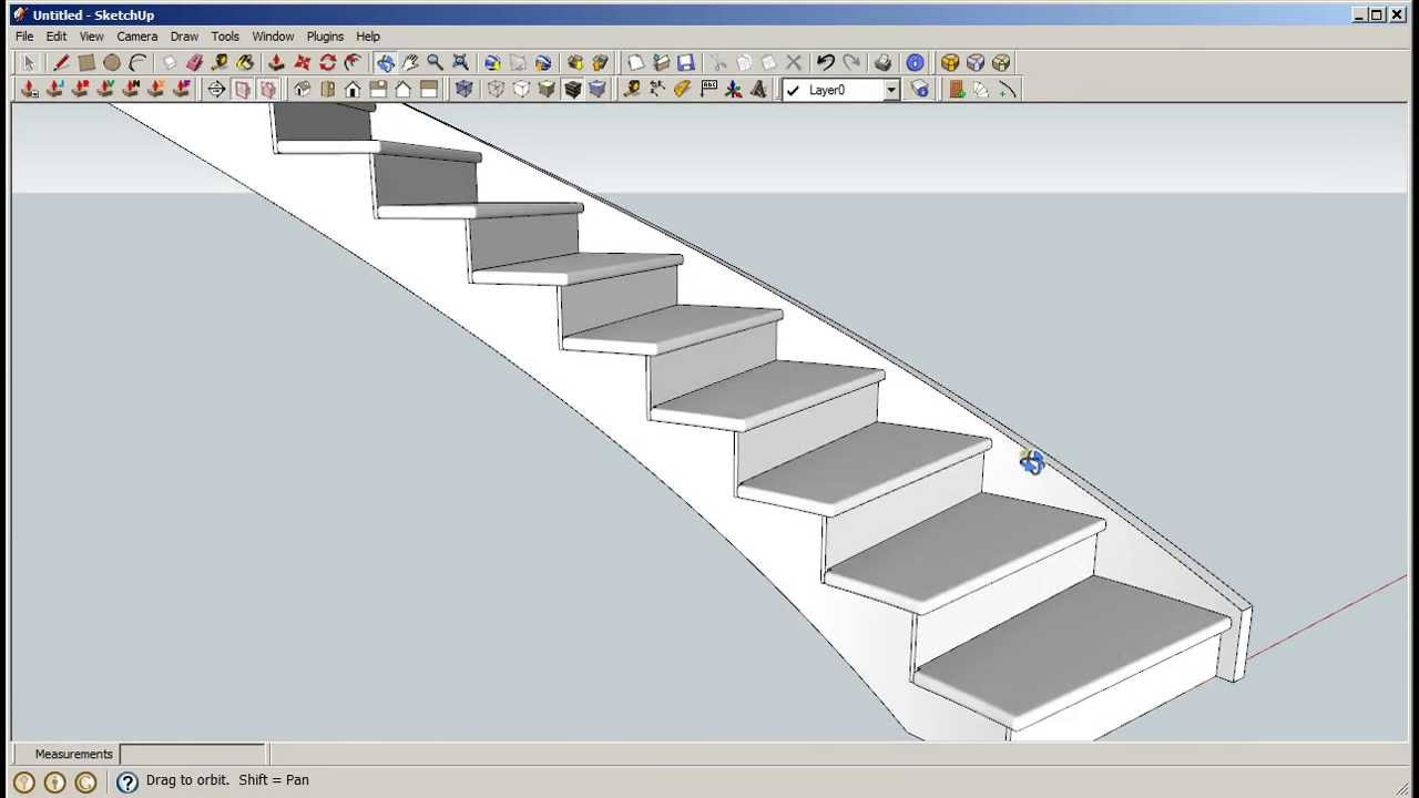 Drawn stairs curved staircase Including including curved Staircase Curved