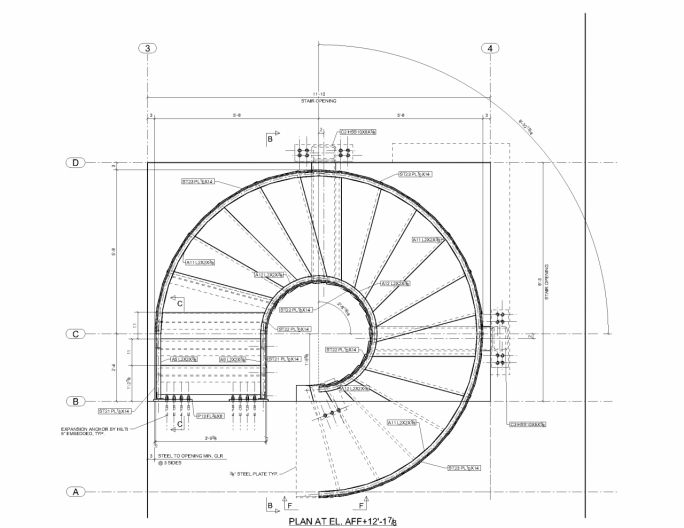 Drawn stairs curved staircase Elevation Pinterest Stairs on dimensions