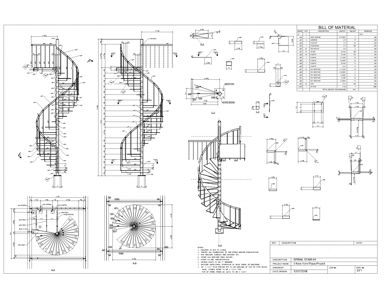 Drawn stairs curved staircase Stair 1 Stair stair Pinterest