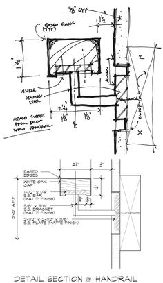 Drawn stairs detail drawing Handrail autocad drawing swimming like
