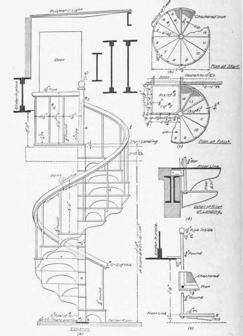 Drawn stairs detail drawing Drawing staircase www 25+ modlar