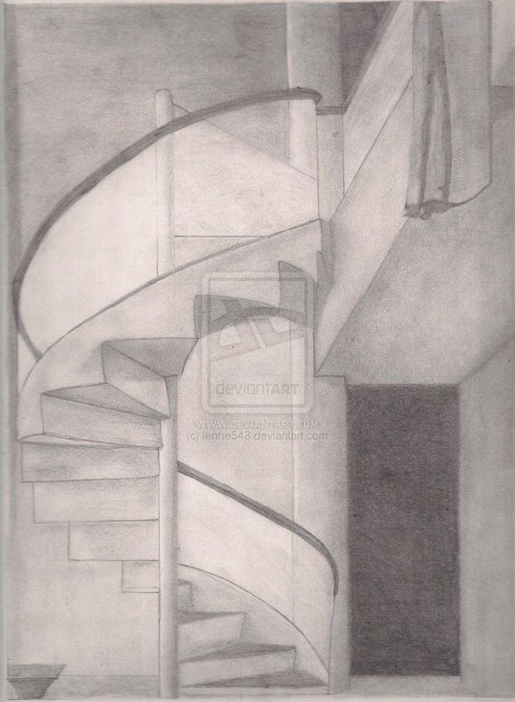 Drawn stairs notebook Best by Pinterest sketches deviantART