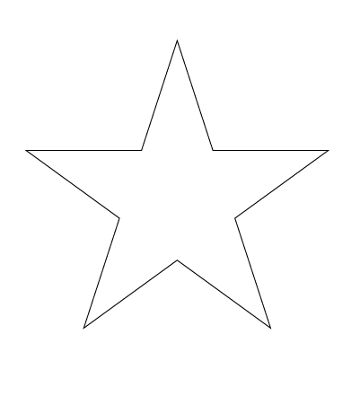 Drawn star To Uploaded Steps How 13