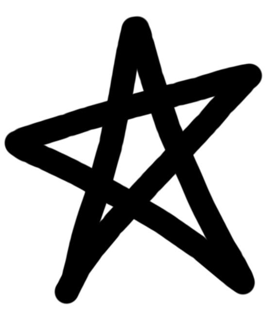 Drawn star Doodle Star Clipart Drawn Cliparts