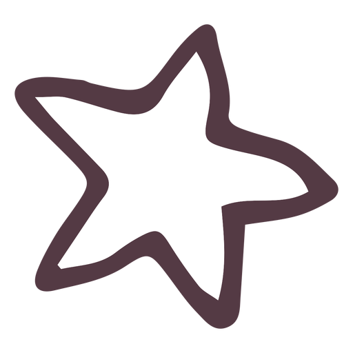 Drawn star Star Star PNG 11 Transparent