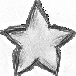 Drawn stare / Gallery Rank Star drawn