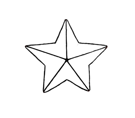 Drawn star Star  A Draw Central