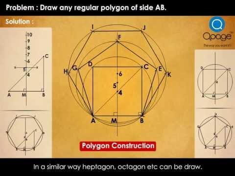 Drawn star basic Polygon of Regular polygon Star
