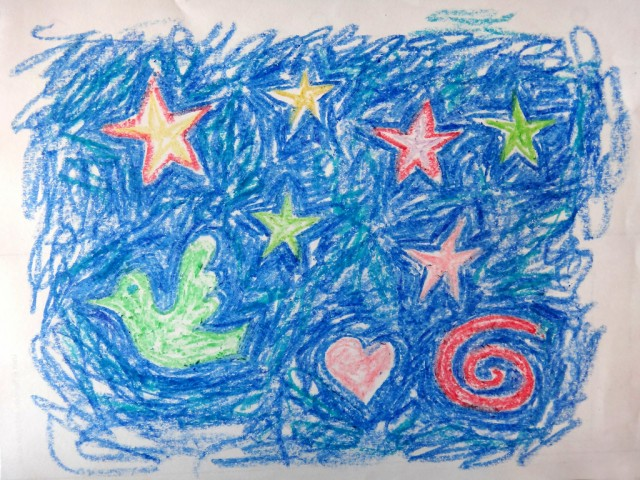 Drawn stars crayon Do Why With Sue Stars