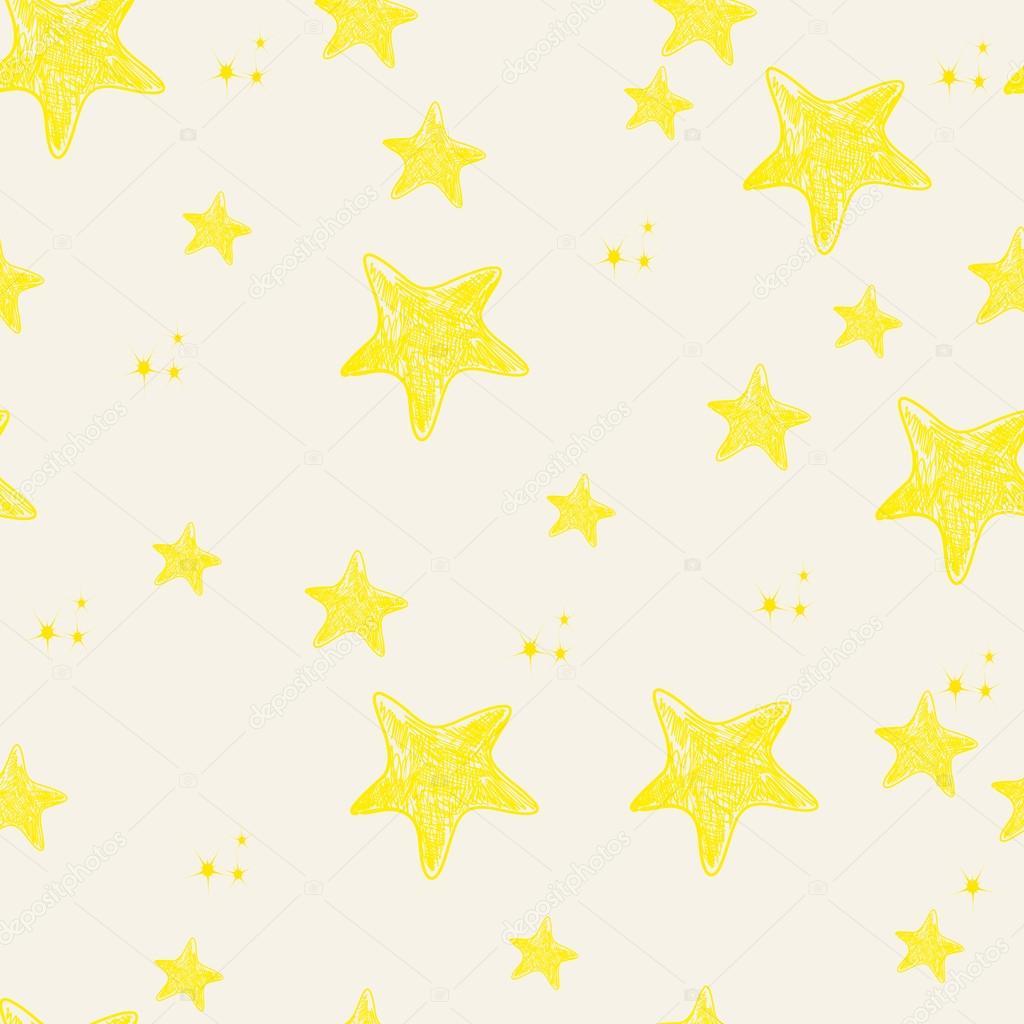 Drawn star cute Cute glyph_studio illustration — illustration