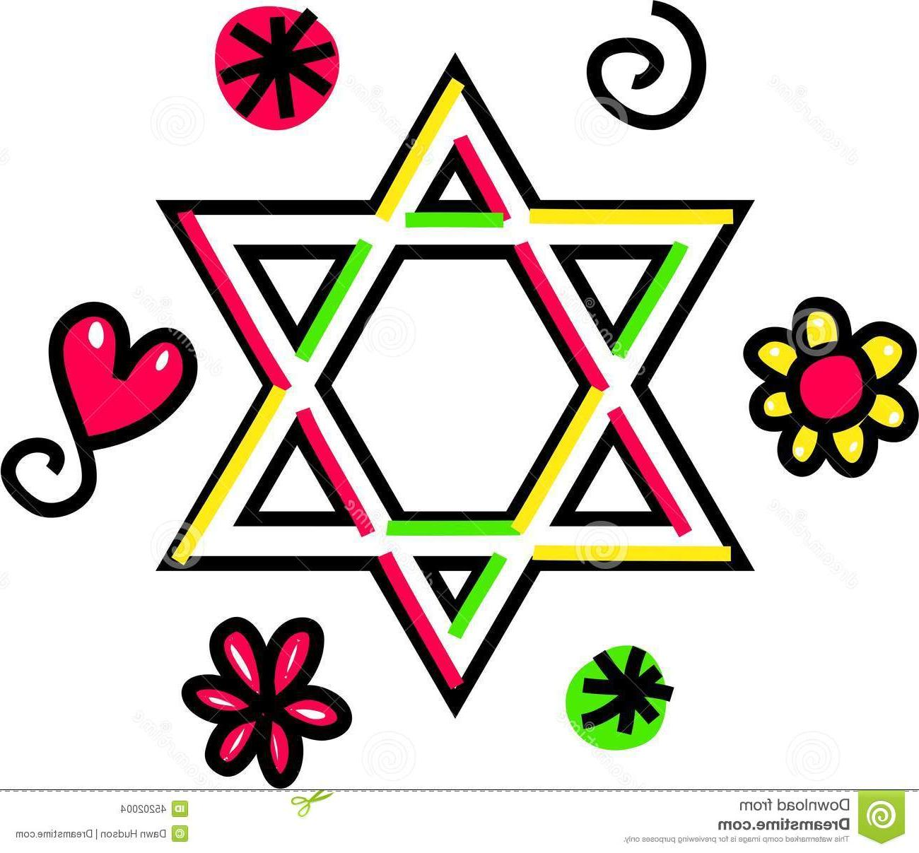 Drawn stare david David Jewish Hand  Doodle