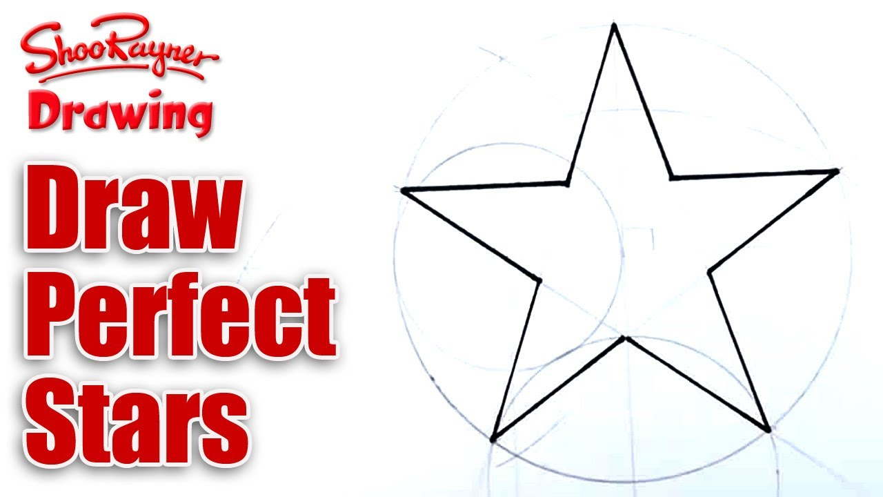 Drawn star easy To YouTube Perfect Stars to