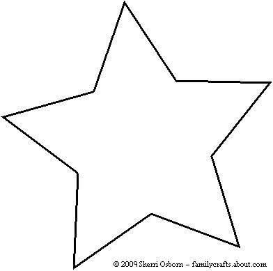 Drawn stare template cut out Paper 25+ 11 template Ornaments