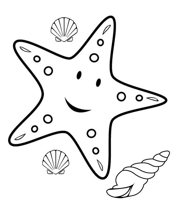 Drawn star kid Cartoon The drawing starfish Pinterest