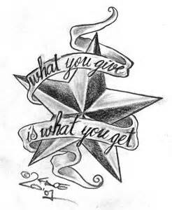 Drawn stare nautical Tattoo star ideas tattoos Cool