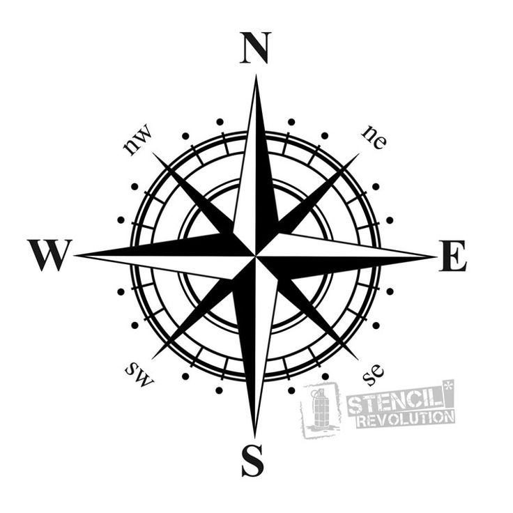 Drawn star nautica Ideas Stencil Nautical tattoo Pinterest