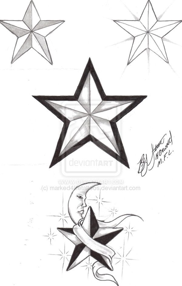 Drawn star nautica On 26 Nautical images Girly