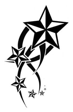 Drawn stare nautical Add Star existing Tattoos Different