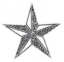 Drawn star norcal Nautical Nautical Tribal Artson Sumad