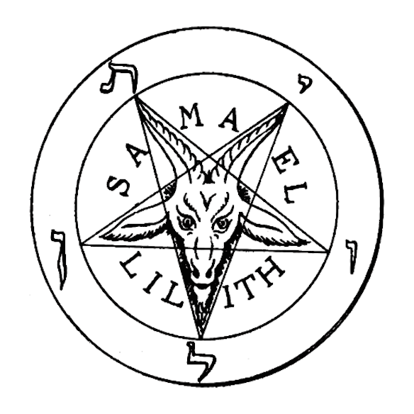 Drawn star cartoon Pentagram Goat  This or