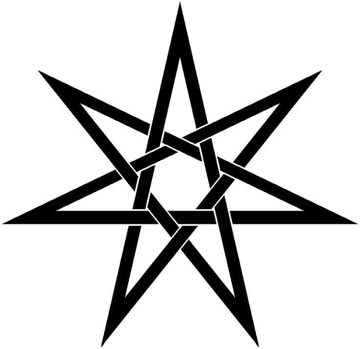 Drawn zodiac pointed #2