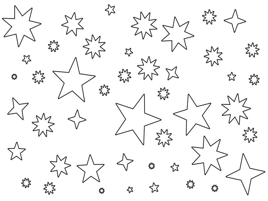 Drawn star printable Printable For Of albitrefamilylove Coloring