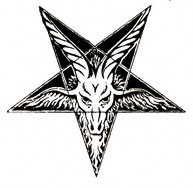 Drawn star satanic Goat by Depth The Pentagram