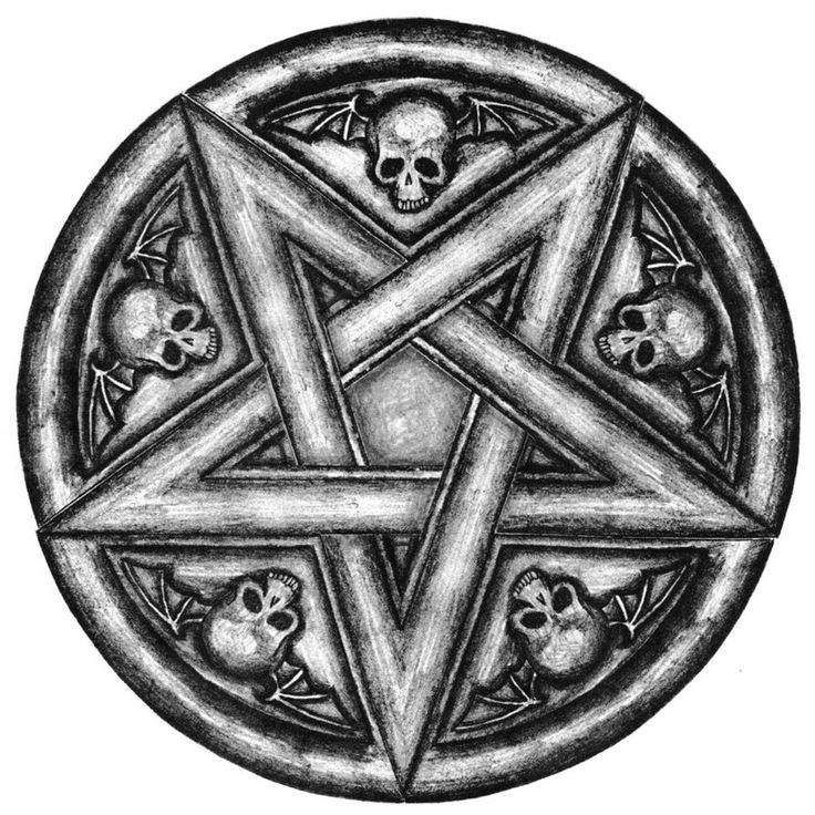 Drawn star satanic Pentagram maikgodau666 on Pentagram tattoo