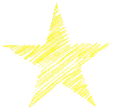 Drawn star scribble Stock Child Royalty a Child