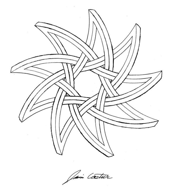 Drawn star sided Star 15 best on ~TheCelticPoet