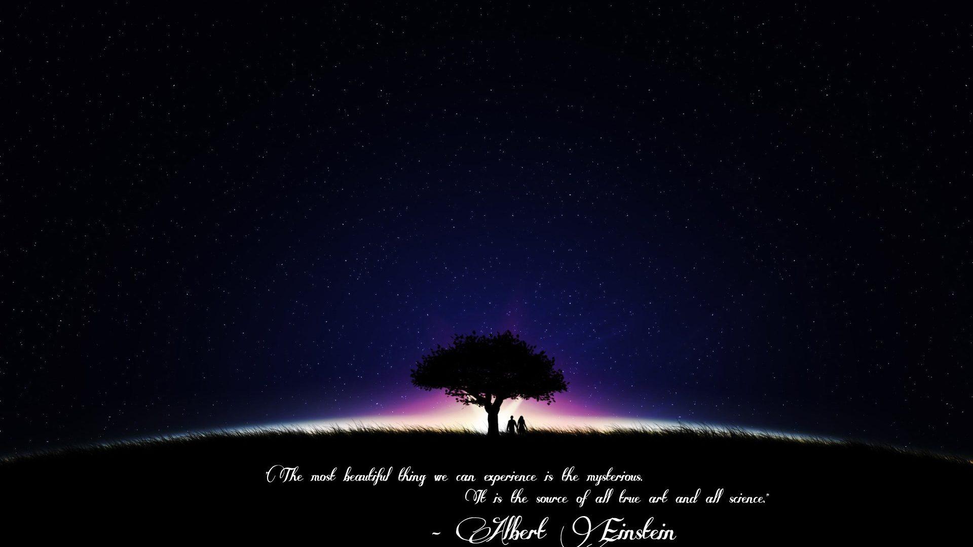Drawn star sky full Albert Sky: Night 1920x1200 Einstein