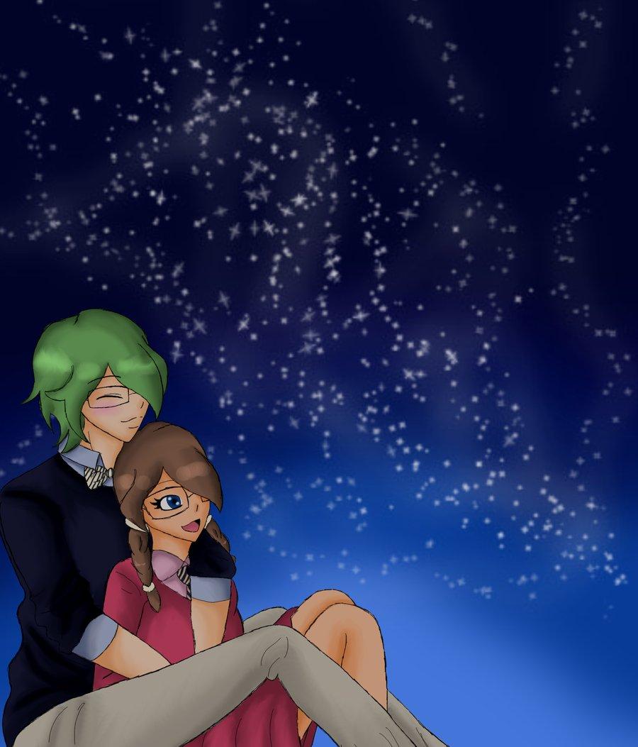 Drawn star sky full Sky on DeviantArt Nomi47 Nomi47