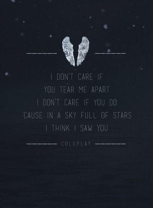 Drawn star sky full Coldplay on Full images For