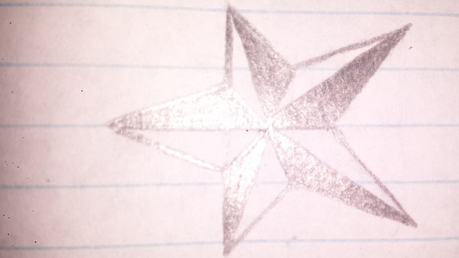 Drawn stars crayon Ago years Pictures) a Steps