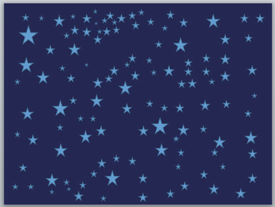 Drawn stars template 2010 Quickly Windows for Drawing