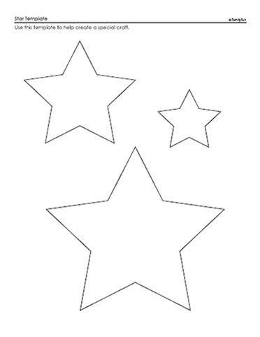 Drawn stars template 298 Printable Stencils best Chalkboard